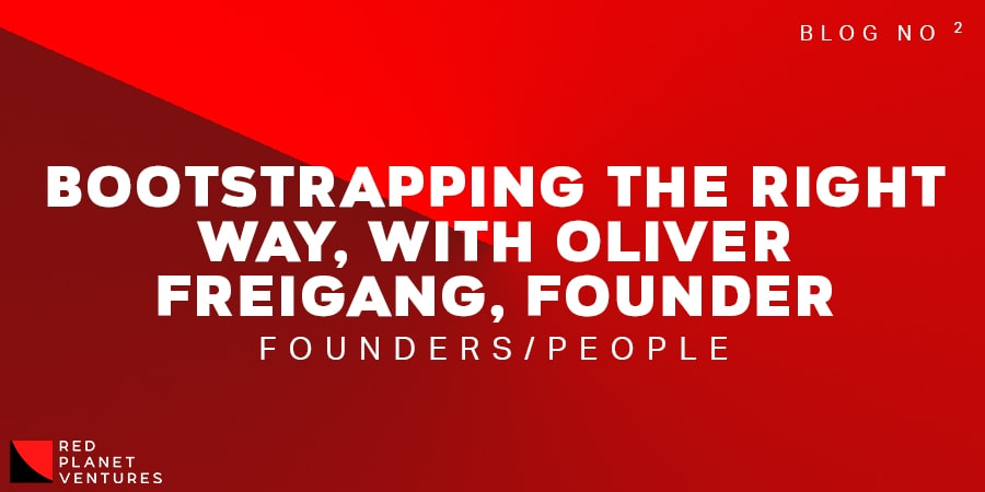 Bootstrapping the right way, with Oliver Freigang, Founder Title